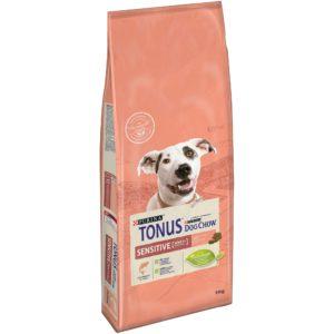 TONUS DOG CHOW SENSITIVE SALMONE KG 14