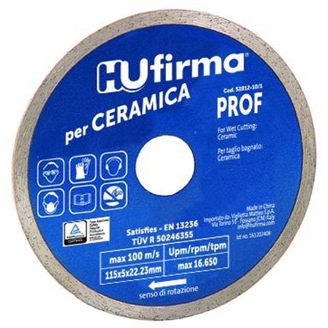 DISCO DIAMANT.C/CONT.CERAM.BLU MM115