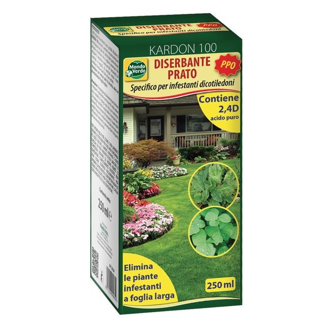 Diserbante prato p p o con 2 4 dicamba 250 ml per foglia for Diserbante per prato