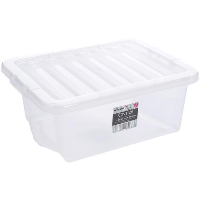 CRYSTAL BOX CON COPERCHIO 33X43XH17