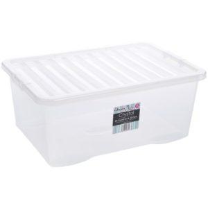 CRYSTAL BOX 45 LITRI 60X40X25 C/COPERCHIO