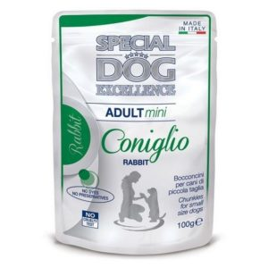 SPECIAL DOG EXCELLENCE BUSTE ADULT MINI CONIGLIO GR.100