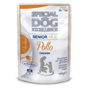 SPECIAL DOG EXCELLENCE BUSTE SENIOR POLLO GR.100