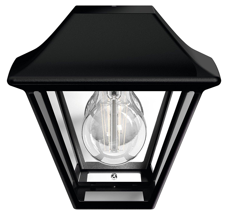 Alpenglow lampada a muro nero in alluminio 1 luce mondobrico - Philips illuminazione casa ...