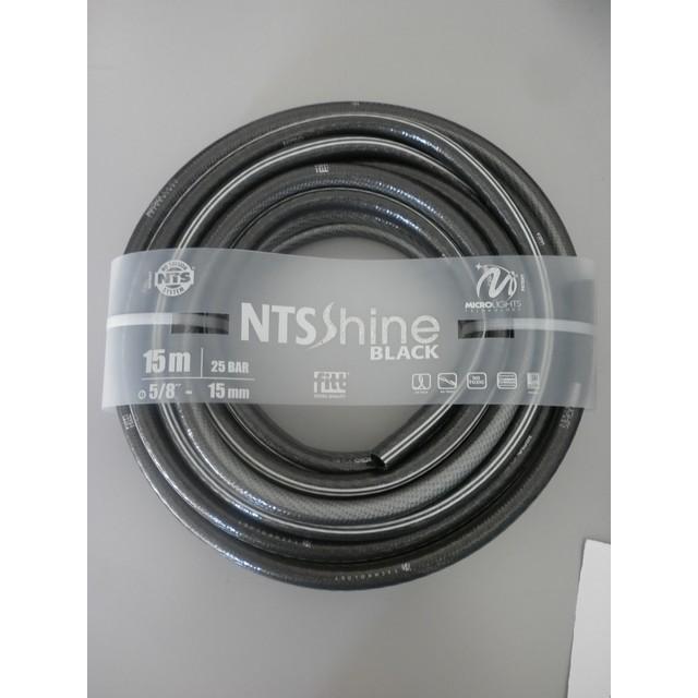 TUBO NTS SHIME BLACK DIAM.5/8 MT 15 ANTI PIEGA LUCCICANTE ANTIALGA