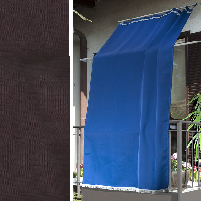 TENDA DA SOLE MARRONE 145 X 300 CM (100% POLIESTERE)