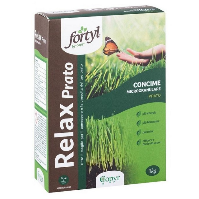 FORTYL RELAX PRATO KG 1 CONCIME MICROGRANULARE