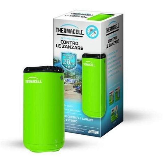 Mini halo dispositivo contro le zanzare green mondobrico - Contro le zanzare in giardino ...