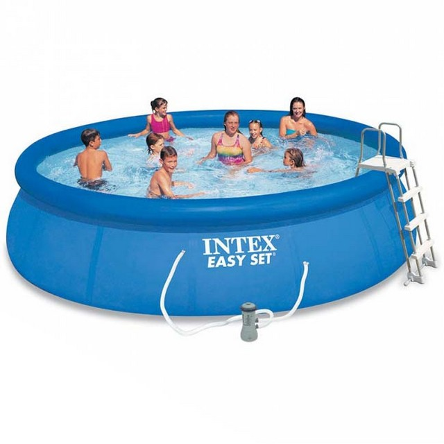 PISCINA EASY INTEX +POMPA + KIT CM 457X107