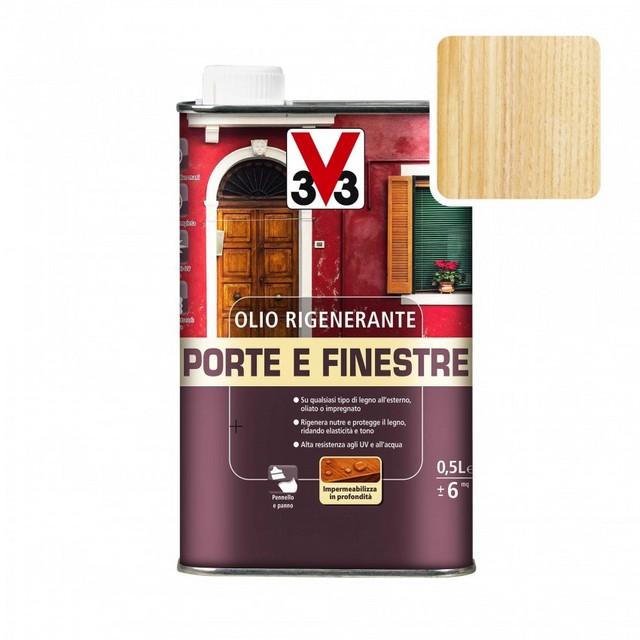 OLIO RIGENERANTE V33 ML 1000 PORTE E FINESTRE