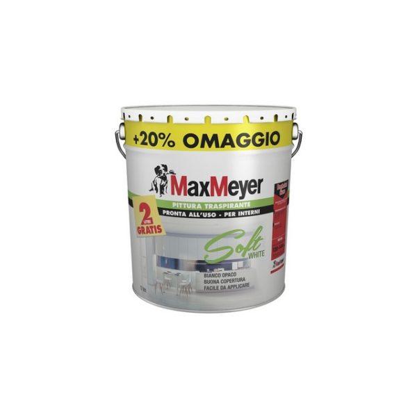 LT 10+2 MAX MEYER SOFTWHITE PITTURA TRASPIRANTE