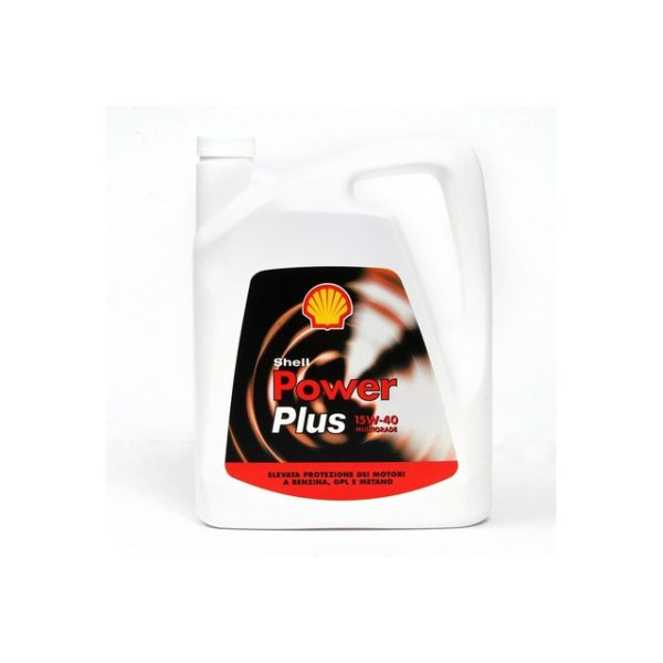 OLIO SHELL POWER PLUS M.O. 15W-40 LT.4
