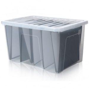 CRYSTAL BOX 60LT 60X40X33H TRASP. TRASP.