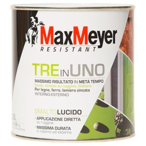 SMALTO MAX MEYER 3 IN 1 BIANCO LUCIDO