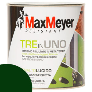 ML 500 SMALTO MAX MEYER 3 IN 1 LUCIDO VERDE SCURO