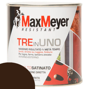 ML 500 SMALTO 3 IN 1 MAX MEYER MARRONE SATINATO