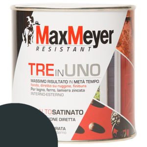 ML 500 SMALTO 3 IN 1 MAX MEYER SATINATO NERO