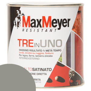 ML 500 SMALTO MAX MEYER 3 IN 1 SATINATO GRIGIO CEMENTO