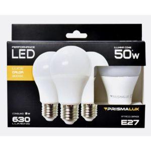 CF3 LAMP.LED GOCCIA 8W/50W E27 LUCE CALDA
