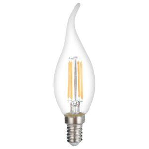 LAMPADA LED FILAMENTI COLPO DI VENTO E14 40W