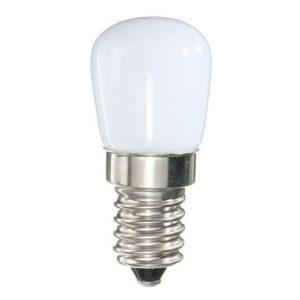 LAMPADA VETRO MILKY LED CALDA 15W 2W