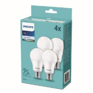 LAMPADINE PHILIPS 4LED 75W E27