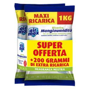 AIRMAX RICARICA SALI NEUTRA KG 1+1
