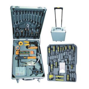 SET UTENSILI IN VALIGETTA TROLLEY VIGOR 142 PZ
