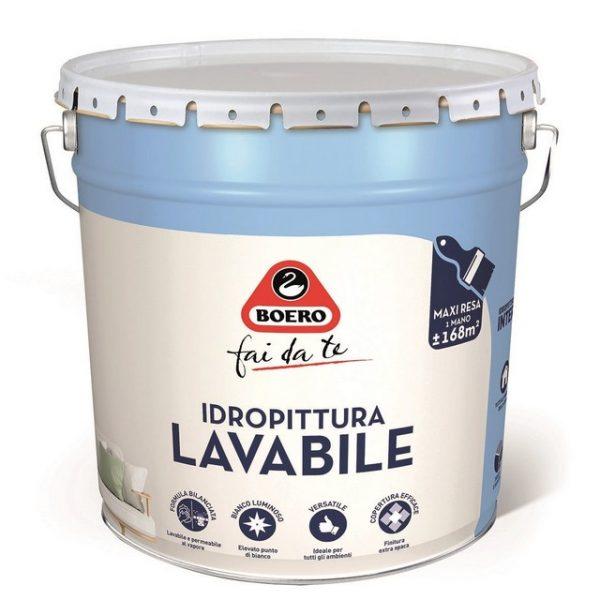 IDROPITTURA LAVABILE BOERO 14LT