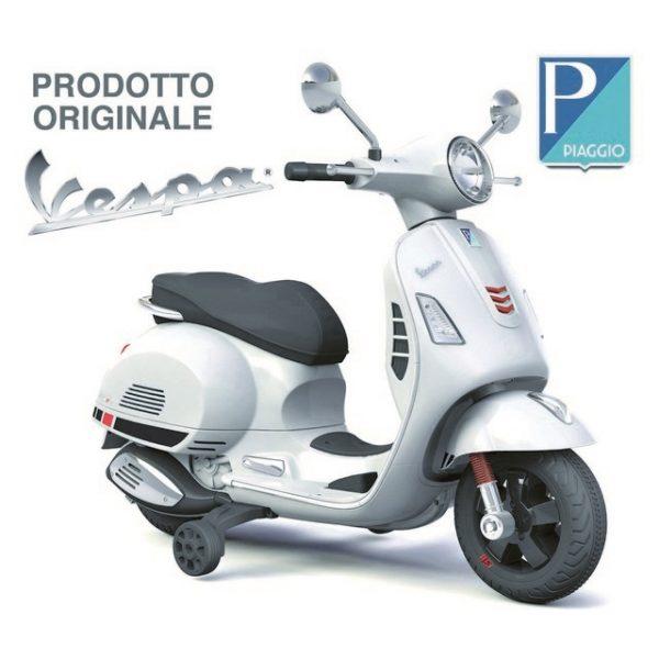 VESPA PIAGGIO GTS 12V BIANCA GIOCATTOLO