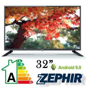 "TELEVISORE ZEPHIR 32"" HD GOOGLE ANDROID 9.0 TAG32-900"