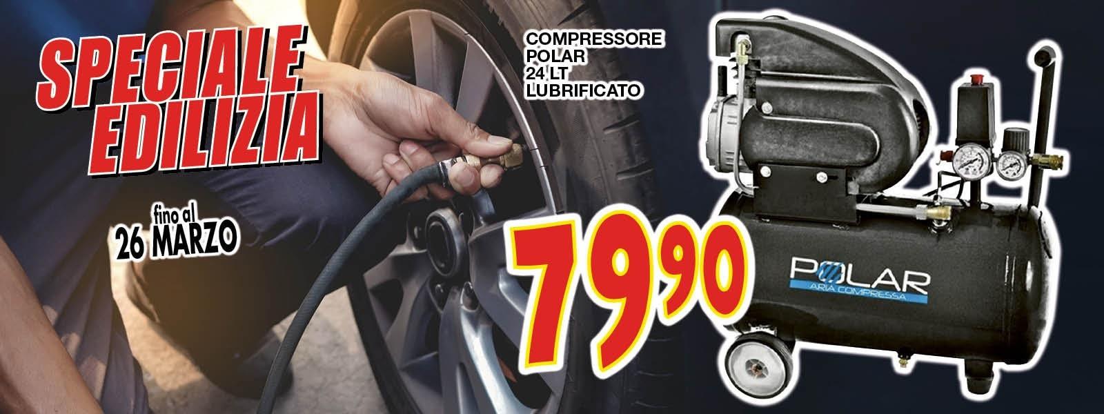 COMPRESSORE POLAR 24LT