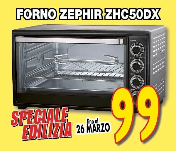 FORNO ZEPHIR ZHC50DX