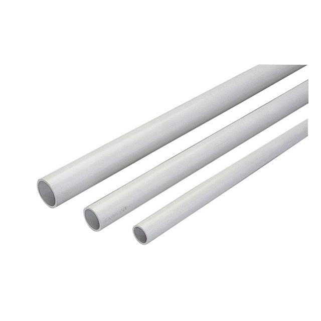 2m tubo rigido 16mm grigio mondobrico centro fai da te for Canaline per tubi riscaldamento