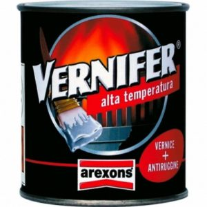 VERNIFER ALTA TEMPERATURA ML.250 NERO SATINATO