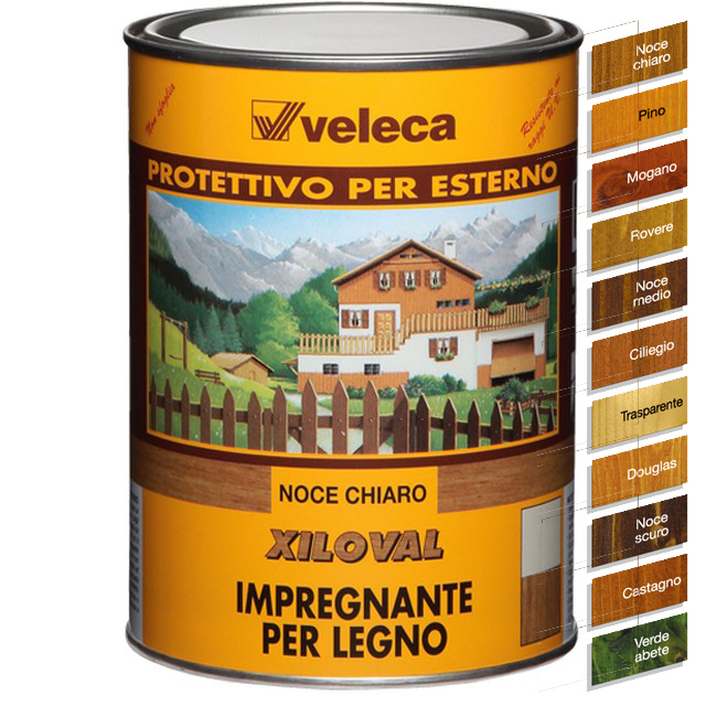 VELECA XILOVAL IMREGNANTE TRASPARENTE LT 5