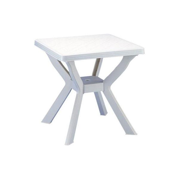 Tavolo reno bianco mondobrico arredo giardino for Arredo giardino legno bianco