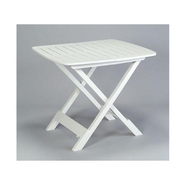 Tavolo tevere bianco mondobrico arredo giardino for Tavoli pieghevoli brico