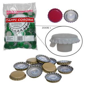 CF.200 TAPPO CORONA D.29 ROSSO BIDUL
