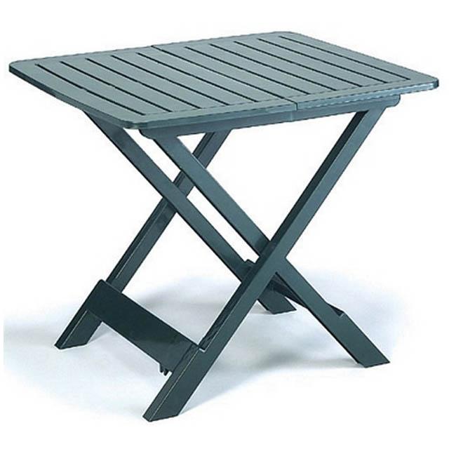 Tavolo tevere verde mondobrico arredo giardino - Tavolo pieghevole fai da te ...