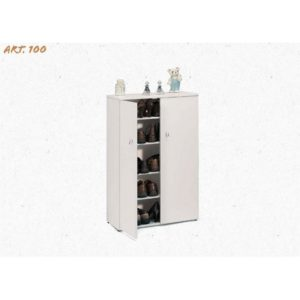 100 MOBILE 2 ANTE BIANCO CM 103X61X34