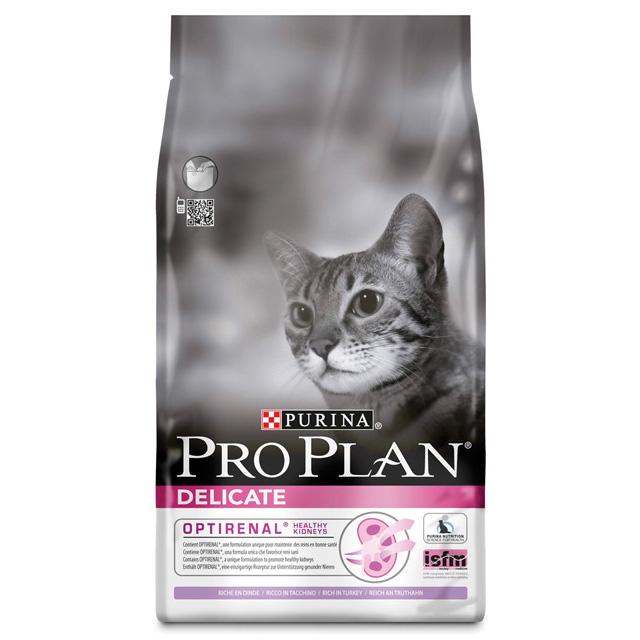 PRO PLAN CAT DELICATE TACCHINO/RISO KG.1