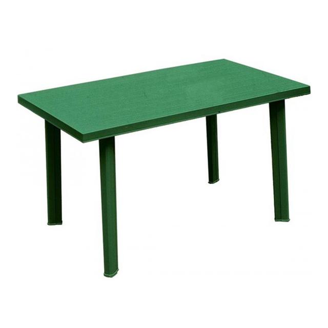 Tavolo velo verde 125x75 mondobrico arredo giardino - Tavolo da giardino plastica ...