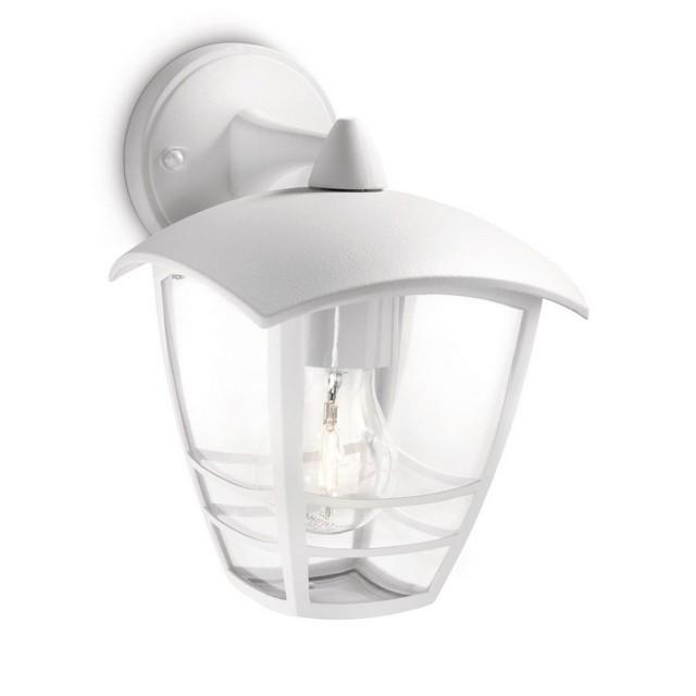 Creek lampada da parete bianca lanterna down mondobrico - Philips illuminazione casa ...