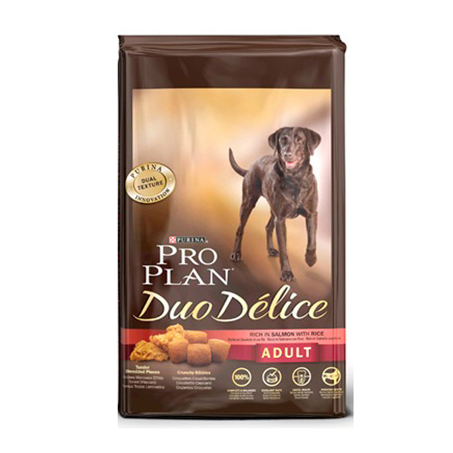 PRO PLAN DUO DELICE ADULT SALMONE RISO 700 GR.