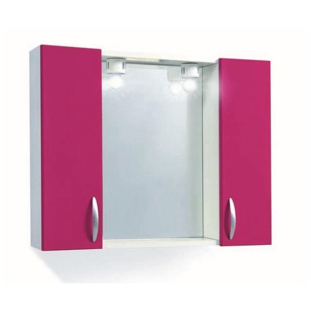 Pensile specchio con vano a giorno - Mondobrico, bagno