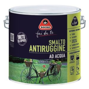 0.5LT SMALTO ANTIRUGGINE ALL'ACQUA VERDE IMPERIALE