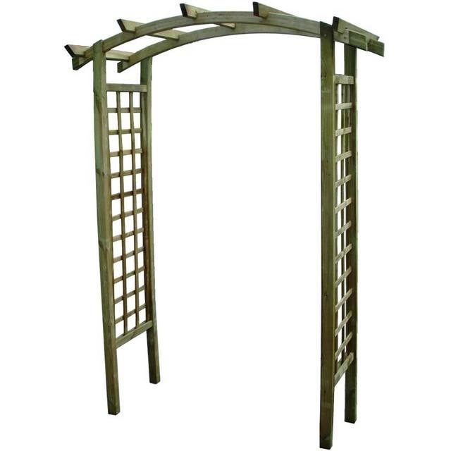 Arco per rampicanti brico