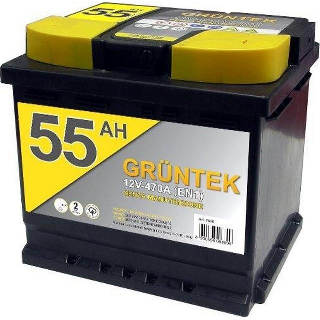 Batteria Auto Gruntek 55 AH - Mondobrico, Batterie Auto