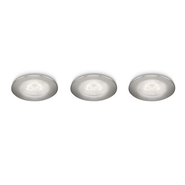 Spot led incasso philips sceptrum acciaio 3x3w mondobrico - Philips illuminazione casa ...